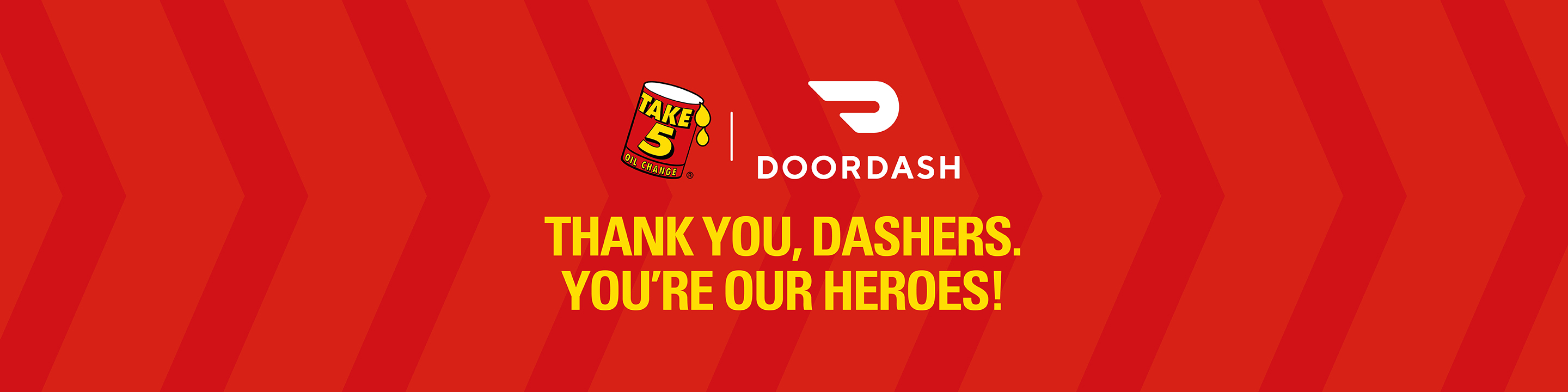 Thank you to Door Dash drivers