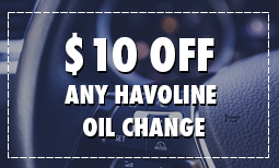$10 Off Any Havoline Oil Change