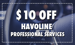 $10 Off Havoline Professional Services