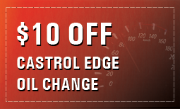 $10 Off Castrol Edge Oil Change