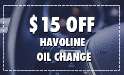 $15 Off Havoline Oil Change