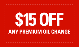 $15 Off Any Premium Oil Change