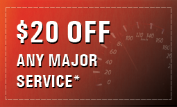 $20 Off Any Major Service