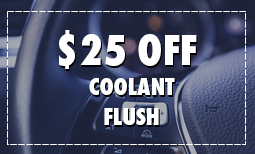 $25 Off Coolant Flush