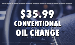 $35.99 Conventional Oil Change