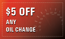 $5 OFF Any Oil Change (Print Only)