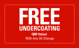 Free Undercoating with Any Oil Change
