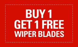 BOGO Wiper Blades*