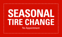No Appointment Seasonal Tire Changeover