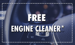 Free Engine Cleaner with Any Oil Change
