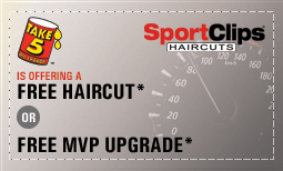 Free Haircuts* with Any Oil Change Purchase